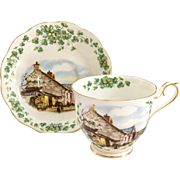 Royal Albert Bone China Traditional British Songs Series Bonnie Banks O'Loch Lomon' Teacup and Saucer