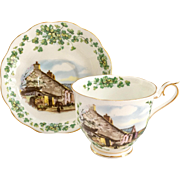 Royal Albert Bone China Traditional British Songs Londonderry Air Scenic Teacup and Saucer