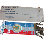 Chicago Carpenters Union Badge with Ribbon