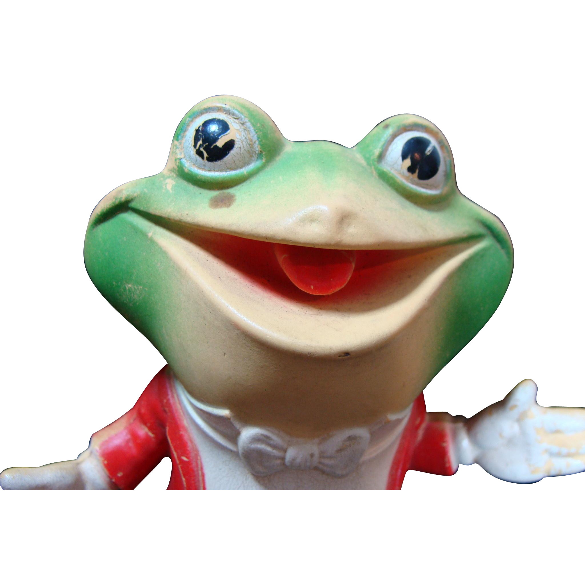 Original Rempel Froggy The Gremlin Squeak Toy/Doll