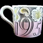 1953 Queen Elizabeth Coronation Mug Eric Ravilious