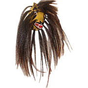 Yaqui Native American Coyote Pascola Dance Mask