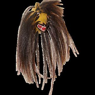Yaqui Native American Coyote Pascola Dance Mask Wall Decor