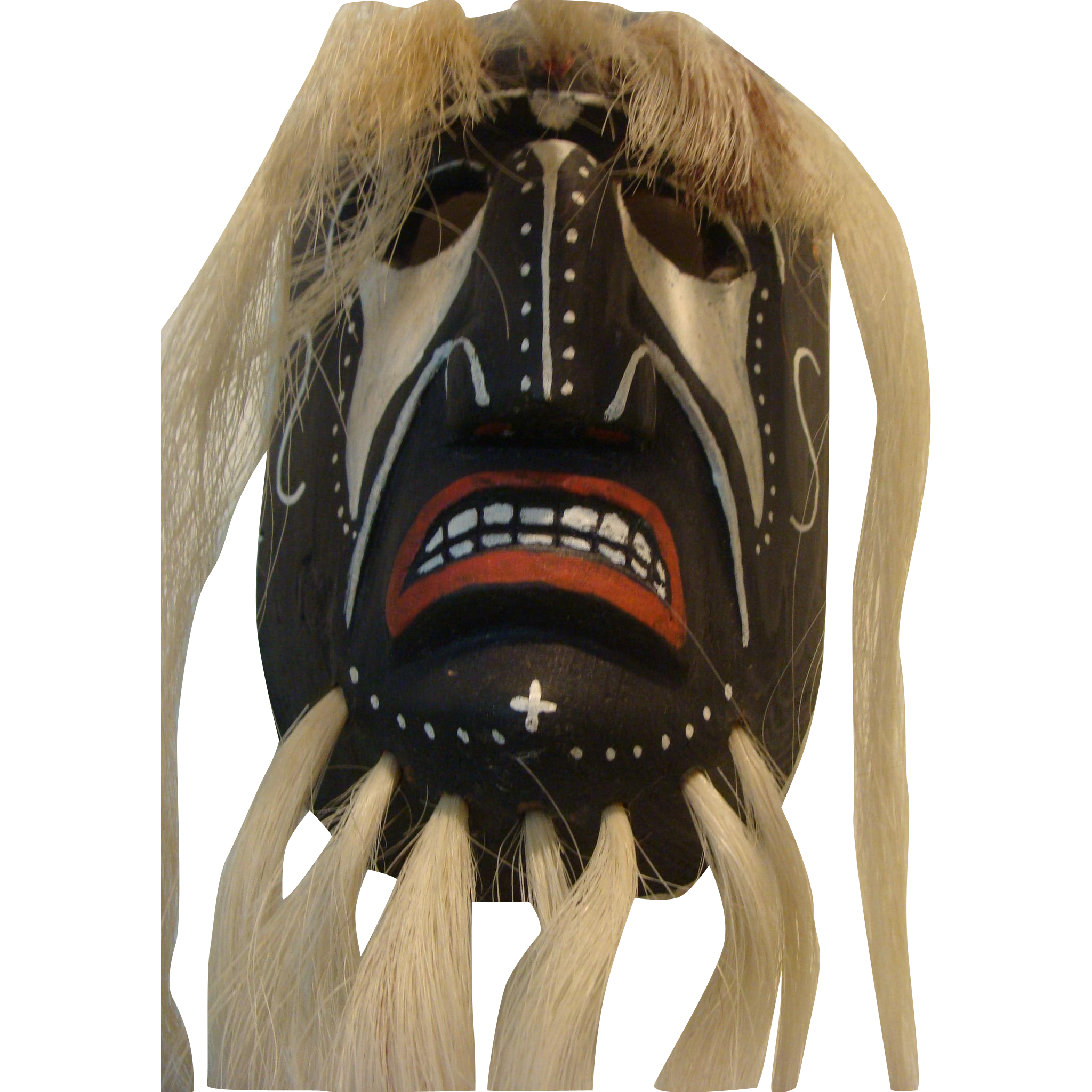 Yaqui Spirit Dance Mask Wall Decor