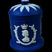 1953 Royal Blue Jasperware Wedgwood