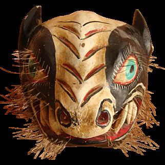 El Tigre Modern Wall Decor Dance Mask