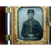 Tin Type Civil War Soldier