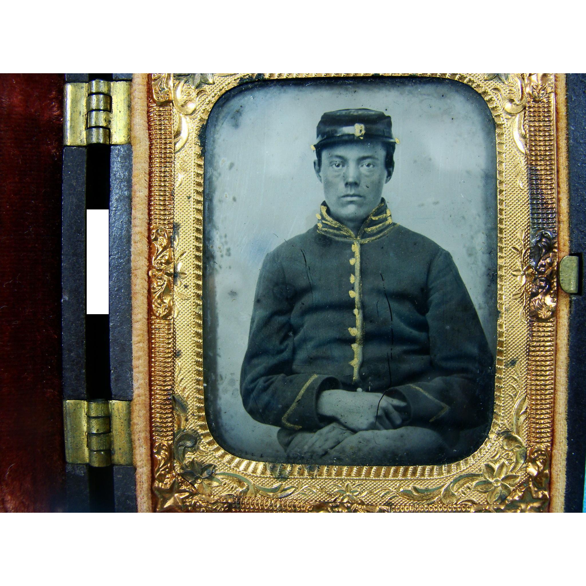 Tin Type Civil War Soldier