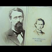 Judge Luce Graduate of Hillsdale College 1866