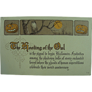 Sedate Halloween Card With a Message From Mother
