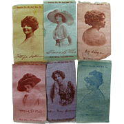 "Old Mill Cigarettes ""Silks"" Starlets of Stage"