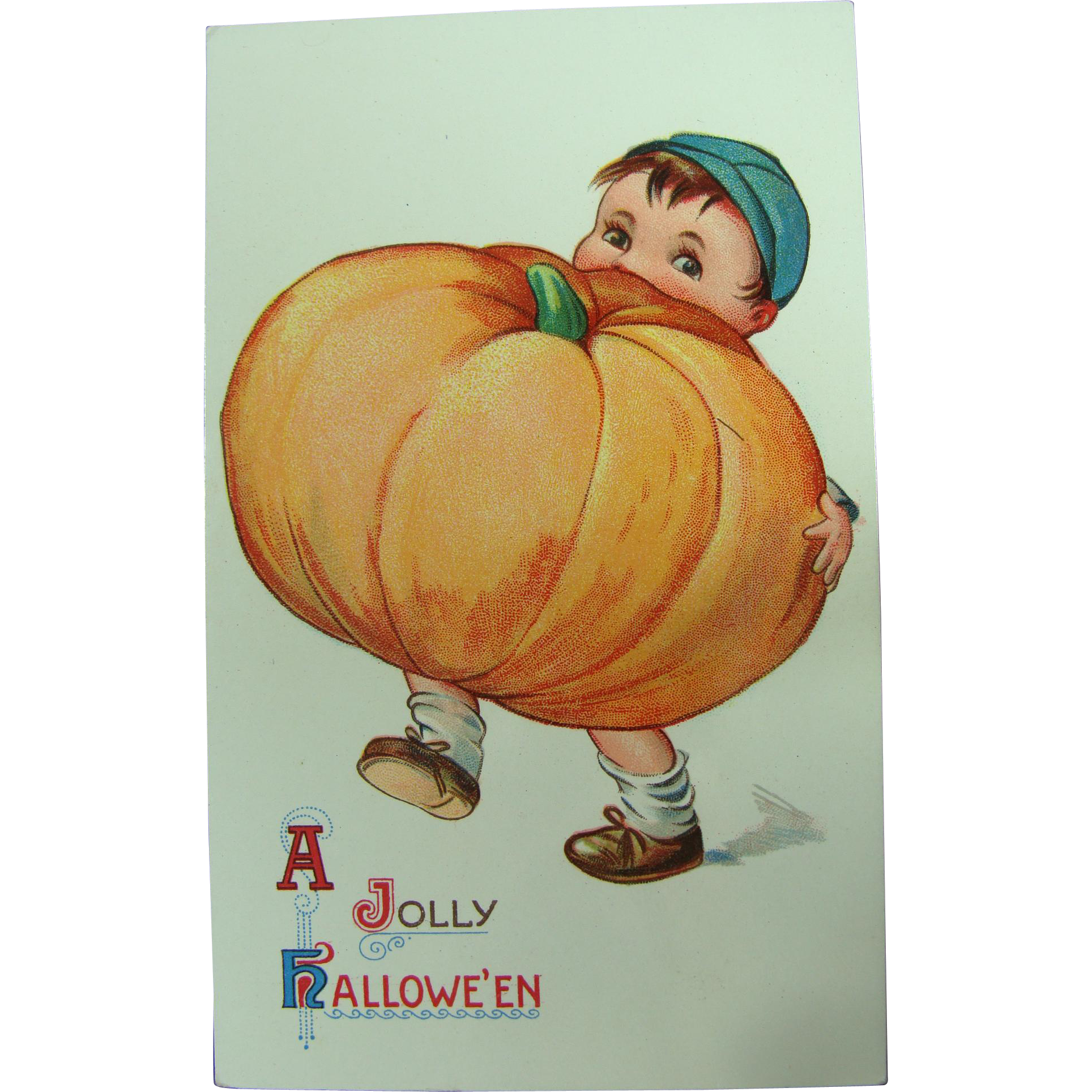 Halloween Postcard Could Anything Be Cuter