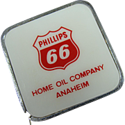 Phillips 66 Gasoline Advertising Tape Measure