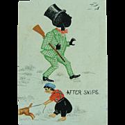 Tiffany 1879 Harlequin Playing Card