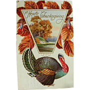 Turkey Day Postcard 1911 San Francisco