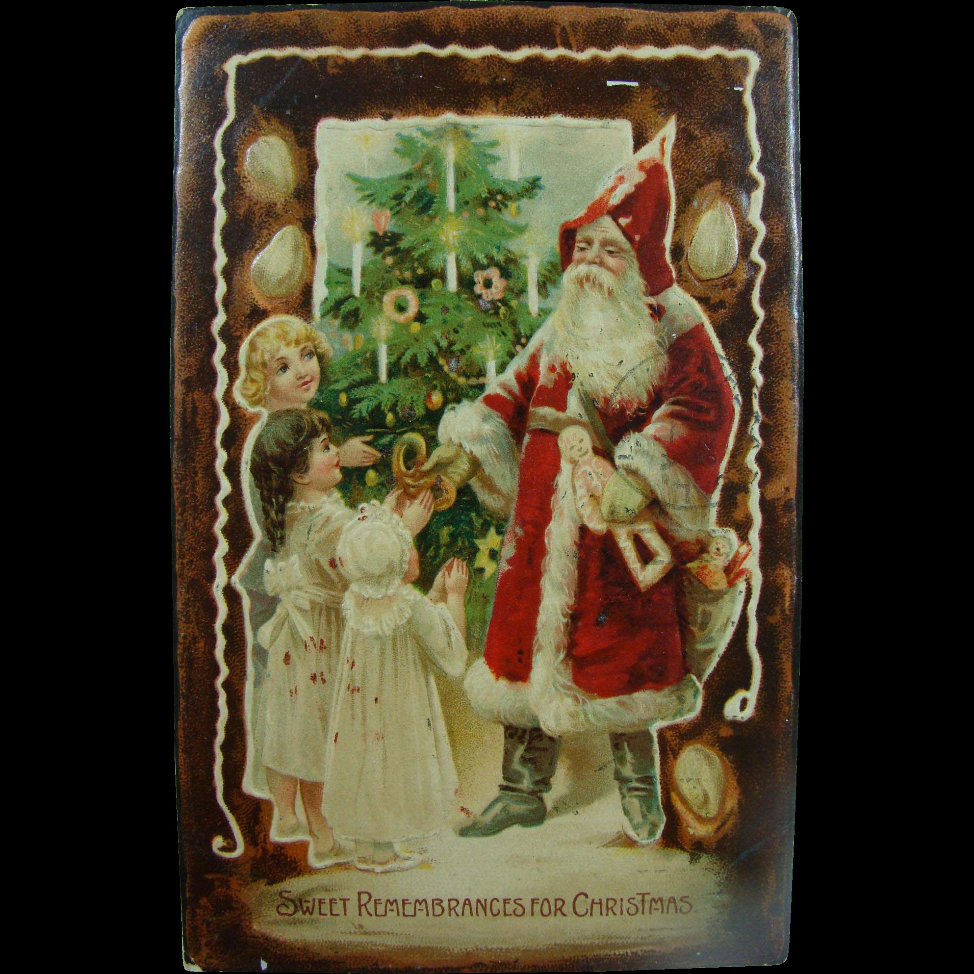 Father Christmas Early Postcard