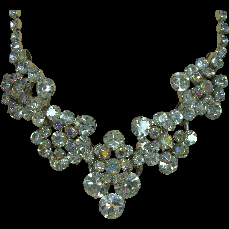 Stunning TRIFARI Rhinestone Necklace