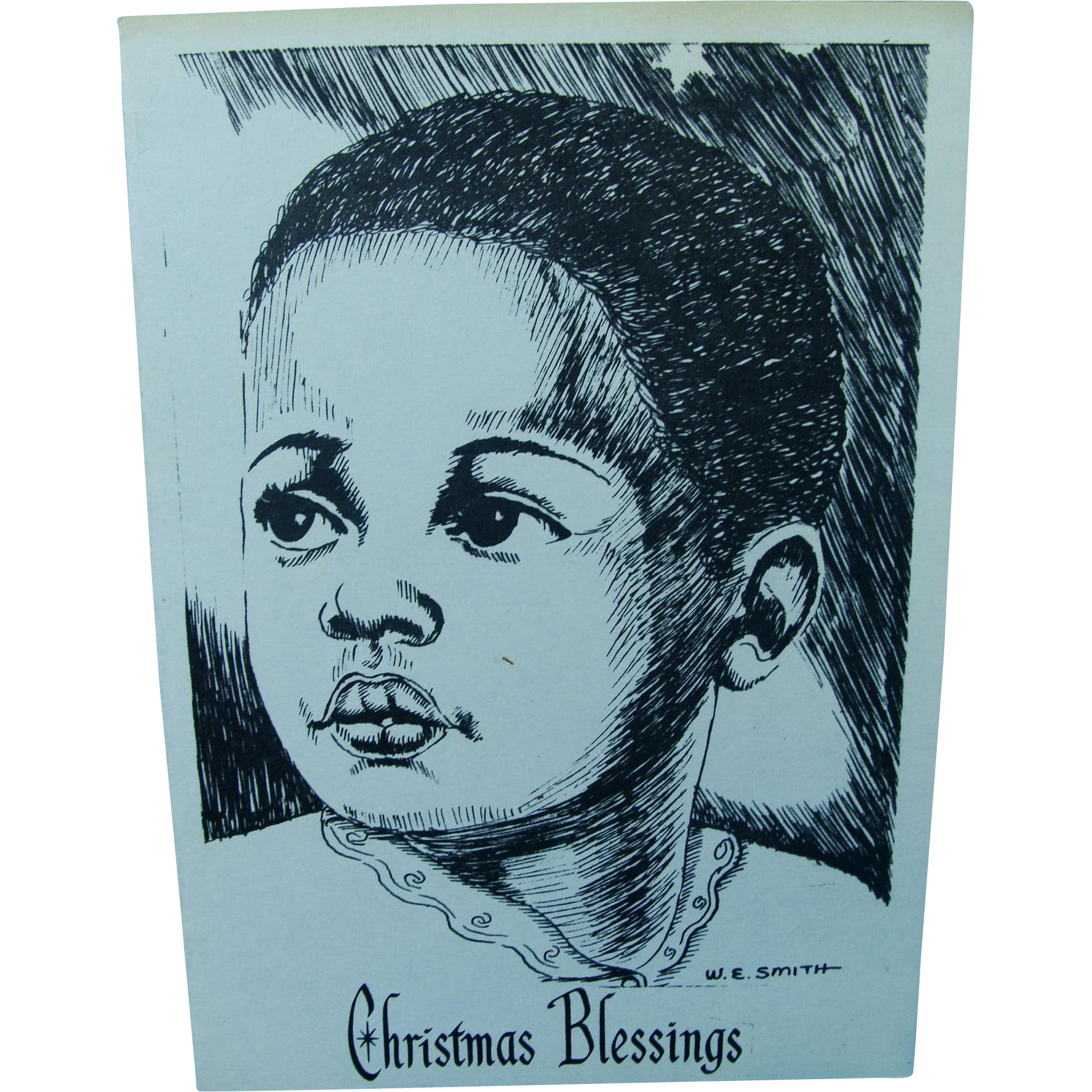 Sweet Christmas Child Greeting Card
