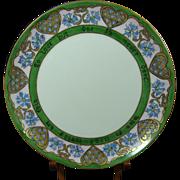 Haviland France Motto Handpainted Plate