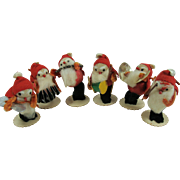 Japan Spun Cotton Santa Band 1950s