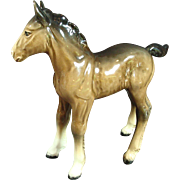 Beswick Figurine Ceramic Foal Horse Decorative Collectible