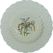 Copeland Spode Bermuda's Flowers Luncheon Plate