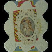 Victorian Valentine Love Token 1875 Hand Made