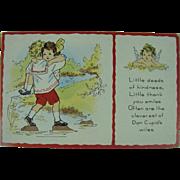 Vintage Whitney Made Post Card Valentine Kindness
