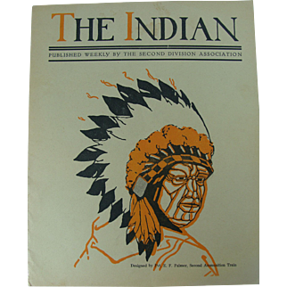 WWI June 1919 2nd Division Publication The Indian