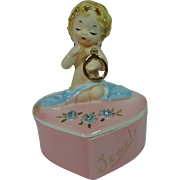 "Josef Originals RARE  ""Jewels"" Trinket  Box"