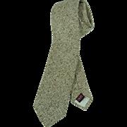 """Vintage Knit Brittania Brittsport Necktie 2 1/2"""""""
