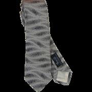 Handsome Vintage Austrian Silk Necktie Cravat