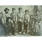 Doshevsky Russian Jewish Immigrants 19th c Family Photograph