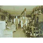 Furniture Store Interior Central Point Circa 1920s 1930s