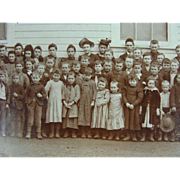 1892 Phoenix Oregon School Children Teachers