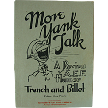 WWI Brochure Publication Magazine A.E.F. Humor - Red Tag Sale Item