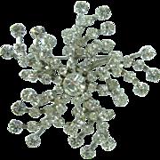 1950-1960 Sparkling Rhinestone Brooch/Pin