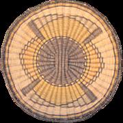 Hopi Pueblo 3rd Mesa Plaque Tray Basket
