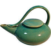 Mid Century Appeal Streamlined Pottery Tea Pot