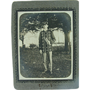 Occupational Cabinet Card Circa 1900 Musician