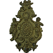 French Gilt Bronze  Furniture Ornament Embellishment
