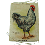 Zira Cigarettes Silk Plymouth Rock Rooster