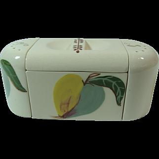 Mid Century Kitchen Tableware Salt Pepper Sugar Box