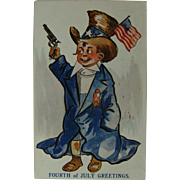Fourth of July Post Card 1910