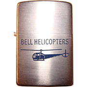 Zippo For Bell Helicopters 1953 Unused