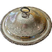 Charles Howard Collins Silver Plate Holloware Server