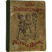 Published 1879 Children Little Buttercup's Picture Book