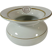Hall Spittoon Cuspidor Fairmont Hotel Seattle 1924