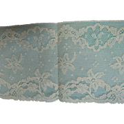 """Vintage Lace Edging 4"""" Wide 72"""" Long Ivory"""