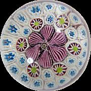 Art Glass Paperweight Mid Century Italy Millefiori